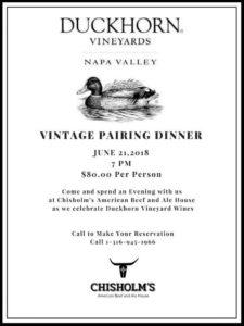 vintage pairing dinner