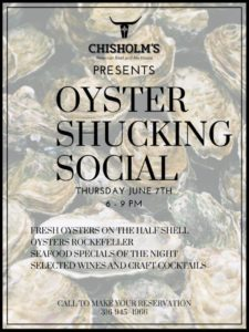 oyster shucking social