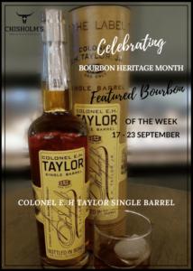 colonel e. h taylor bourbon