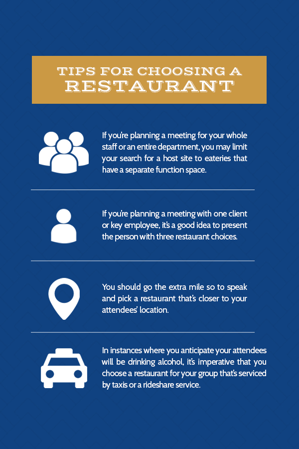 Tips for Holding a Business Meeting at a Restaurant | Chisholm's